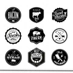 Premium Beef labels