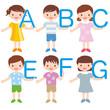 アルファベットを持つ子供たち