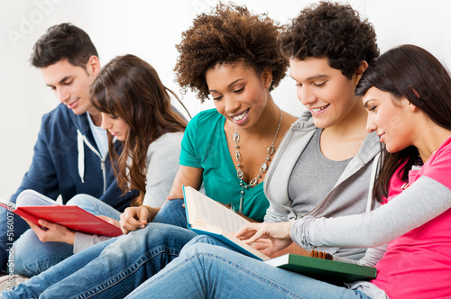 Friends Studying Together