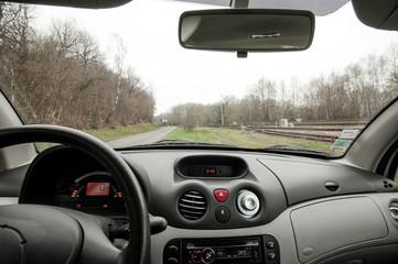 tableau de bord d' une automobile
