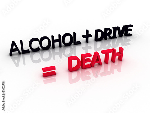 words meaning death when you drive and drink alcohol