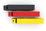 LKW in den Farben von Deutschland