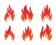 Red Fire Symbol