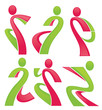 vector collection of fitness and sport images