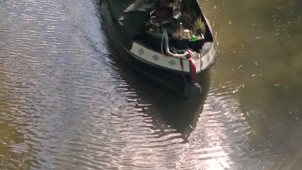 Canal Boat Crusing