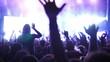 Concert Crowd, slow motion