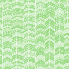Classic hand drawn chevron seamless pattern.