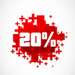 Vector 20 percent discount