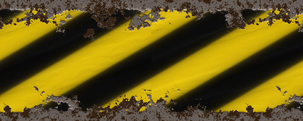 yellow black stripes