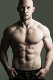 shirtless and fit male
