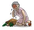 熱中症注意高齢者の外出