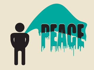 piss on peace
