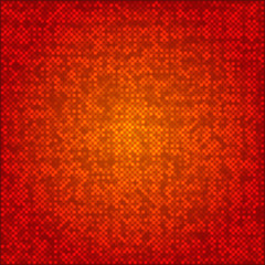 Abstract red dots background