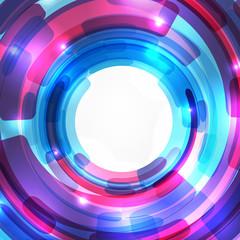 Techno design background