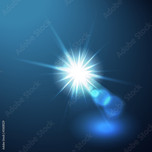Lens flare illustration