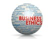 Business ethics sphere