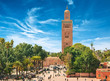 Main square of Marrakesh in old Medina. Morocco. - 51619753