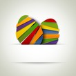 happy easter. Abstract greeting card