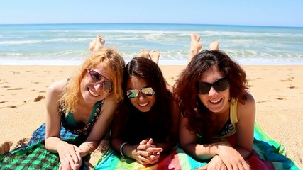Gorgeous Girls on Beach