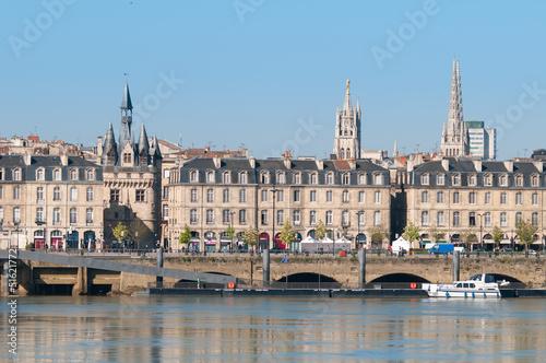 Papiers peints Ville sur l eau Bordeaux - Quai Richelieu