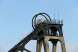 The Headstocks from an Old Coal Mine Colliery.