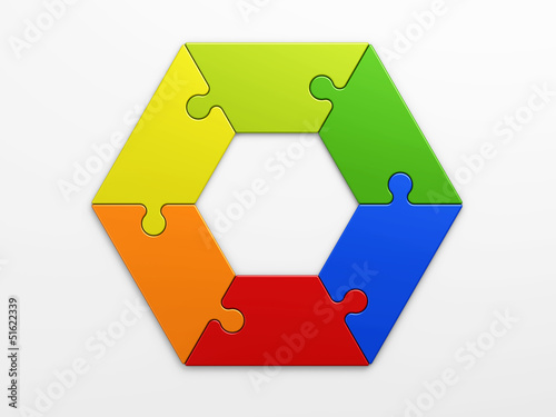 hexagon to place concepts