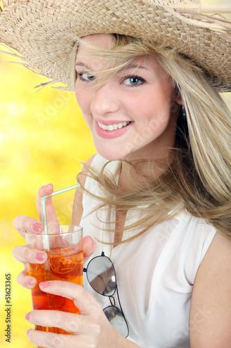 Cocktail trinken