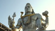 India Karnataka February 24, 2013. Statue of Lord Shiva