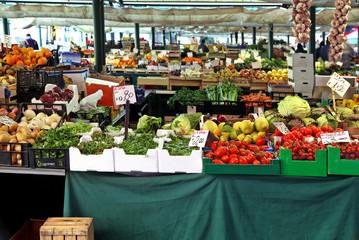 Big market stall