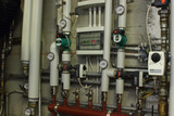 Heating system manometer