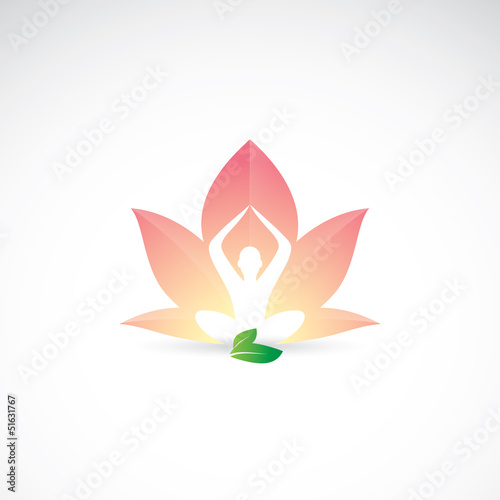Yoga - lotus position