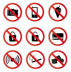Prohibiting Sings