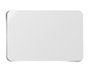 Fond etiquette grise avec ombre