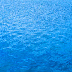 Blue water surface background, texture pattern
