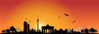 Skyline Berlin Sonne Horizont