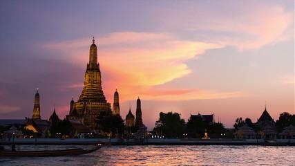 Wat Arun temple Bangkok, Thailand
