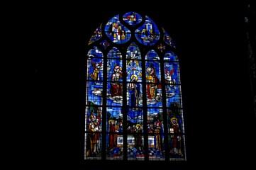Vitrail de l'église de Ploërmel