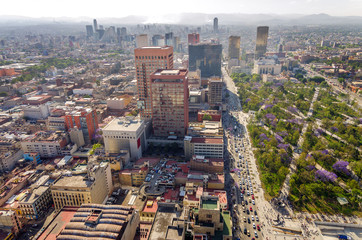 Mexico City Cityscape