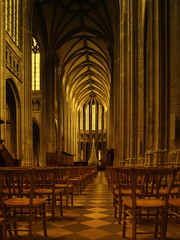 Interior of Orleans Cathedral