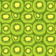 Kiwi fruit vector seamless pattern