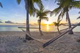 Sunset on beach - 51639785