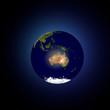 Mondo terra Oceania Australia