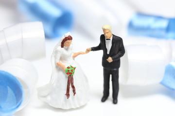 結婚式とリボン
