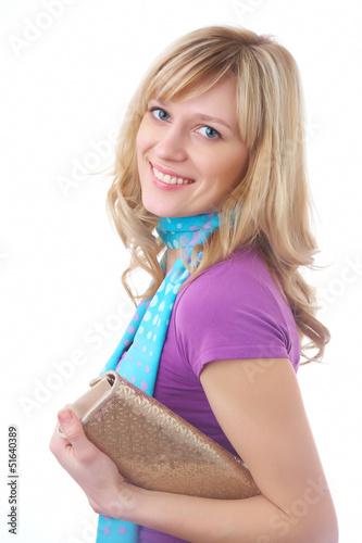 prety blonde woman