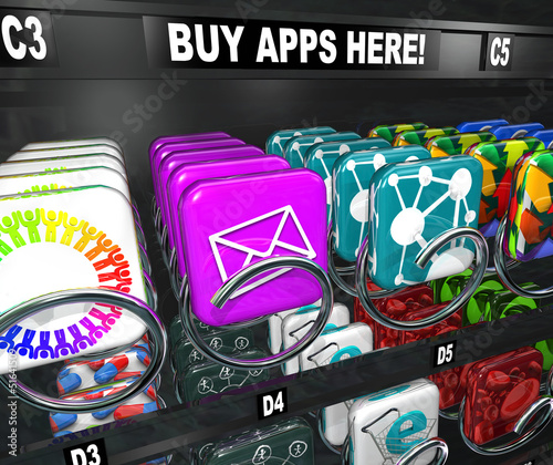 App Vending Machine Buy Apps Shopping Download
