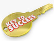 Key to Success Open Successful Career Life
