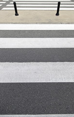 Crosswalk in the city