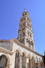 famous tower in split