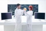 grapefruit laboratory analysis poster