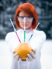laboratory grapefruit experiment